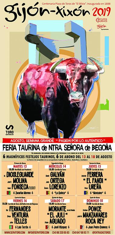Entradas Toros Gijón 2019 Plaza De Toros De Gijón El Bibio